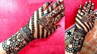 Eid Rakhi special henna design simple and easy mehndi design for beginners happy eid ul_adha