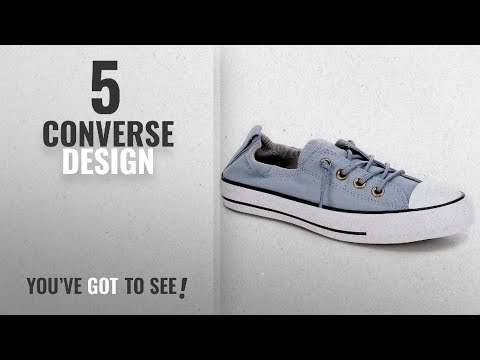 Top 5 Converse Design [2018]: Converse Chuck Taylor All Star Shoreline Blue Skate/Ash Grey Lace-Up