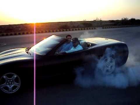 Pir Yasir's Corvette Karachi