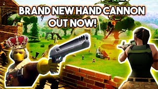 Fortnite Update: HANDHELD PISTOL CANNON OUT NOW + SEASON 3 BATTLE PASS ACTIVE! (Top Player)