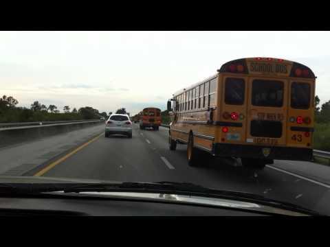 USA School Bus Convoy