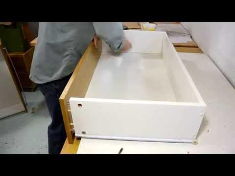 Stiffening cheap dresser drawers