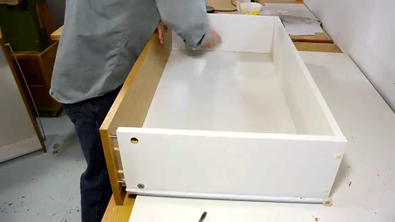 Stiffening Cheap Dresser Drawers Youtube