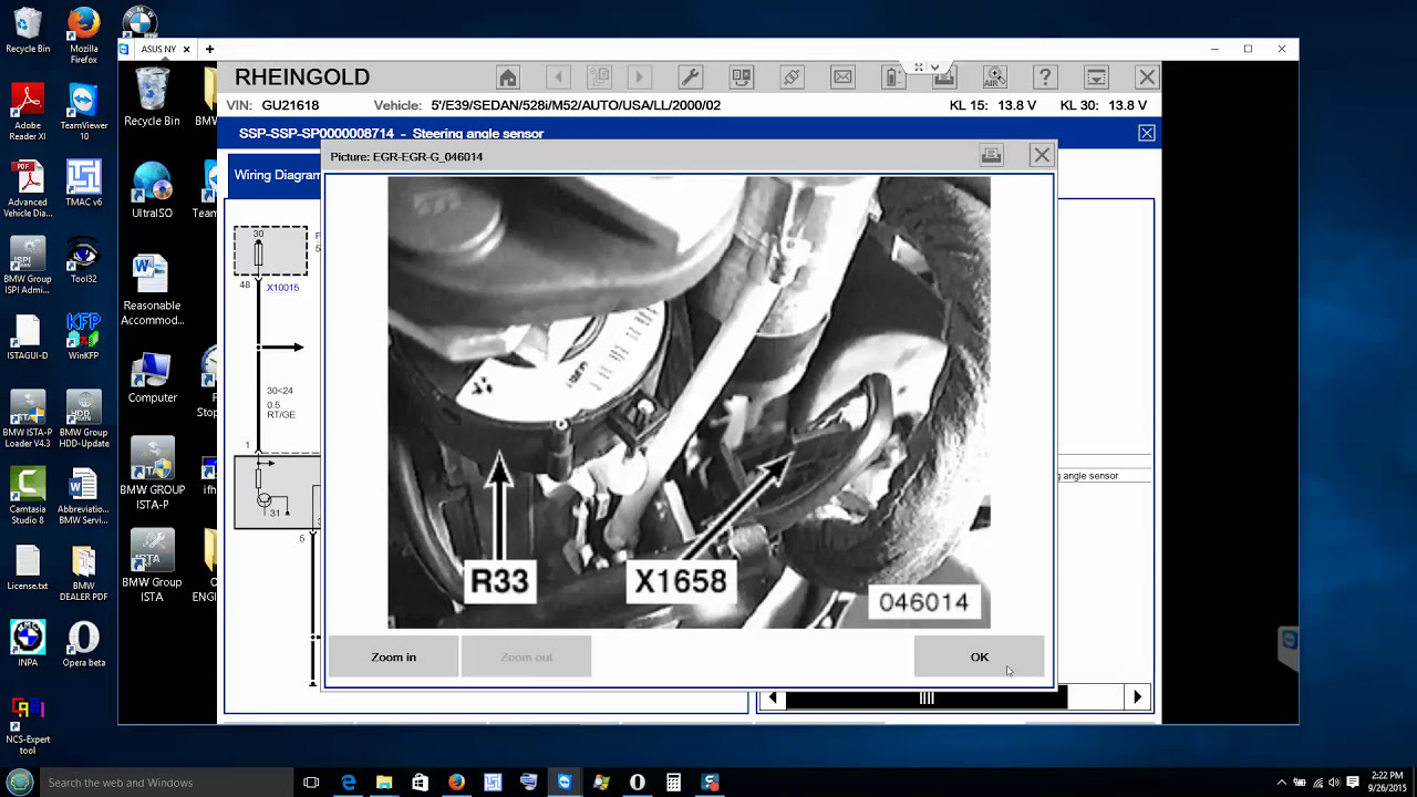Bmw E39 Dsc Error Codes & Abs Dsc Light Removed Via Ista D 2015 09 26 16 18  35  Bmw Learning 01:36:44 HD