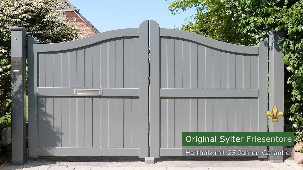 Gartentor Holz Blickdicht Selber Bauen ~ Blickdichte Sichtschutztore Holz  25 Jahre Garantie  YouTube