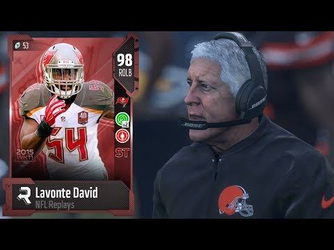 New Replays Lavonte David Cheeks?? | Why He Quit So Fast | Madden 18 Ultimate Team