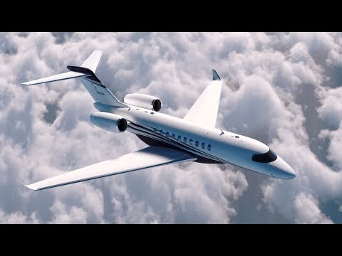 Preview Tour of Textron Aviation's Citation Hemisphere Large