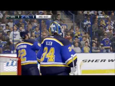 NHL 17 - Minnesota Wild vs St. Louis Blues | Gameplay (HD) [1080p60FPS]
