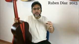 Tips: How to learn the Open Scales Fingerings (major) Ruben Diaz e-zine  Flamenco Lessons CFG Malaga