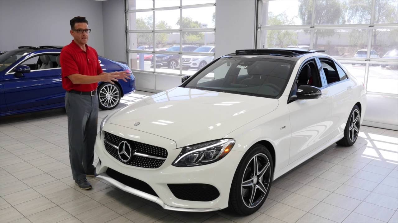 The 2016 mercedes benz c class c450 amg from mercedes benz for Mercedes benz of arrowhead reviews