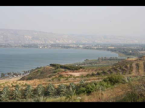 Observation from Israel of the Jordan Valley, Sea of Galilee,  Jordan and the Golan Heights