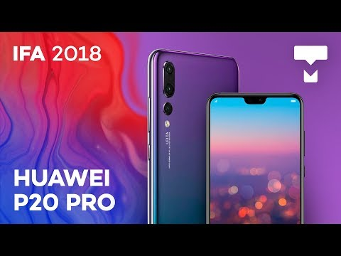 As novas cores do Huawei P20 Pro na IFA 2018 - TecMundo