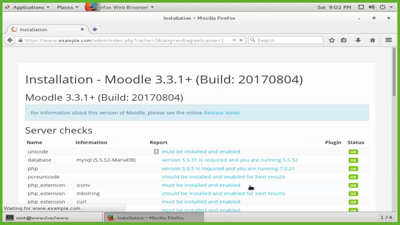 How To Install Moodle 32 With Nginx Ssl Certificate And Mariadb On