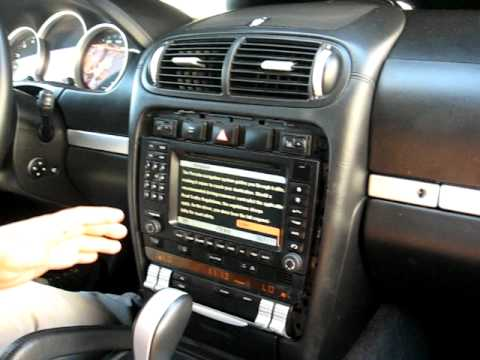 How to Remove Radio / CD / Navigation from 2003 Porsche Cayenne for Repair.