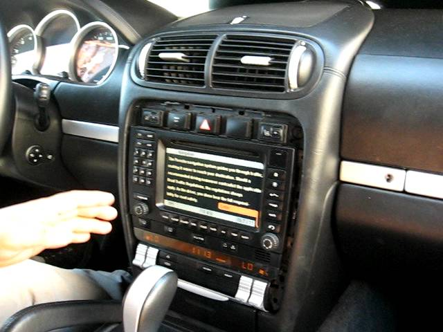 how to remove radio cd navigation from 2003 porsche cayenne for rh clipzui com