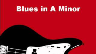 Blues in A minor - Backing Track