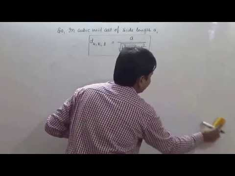 2  Solid State: Law of Crystallography (JEE Main + JEE Advanced + NEET + AIIMS)