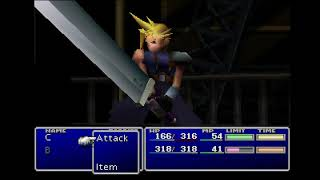 [NEW TAS] Final Fantasy VII in 6h30m47 (In-Game Time) with Canyon Cosmo Skip.