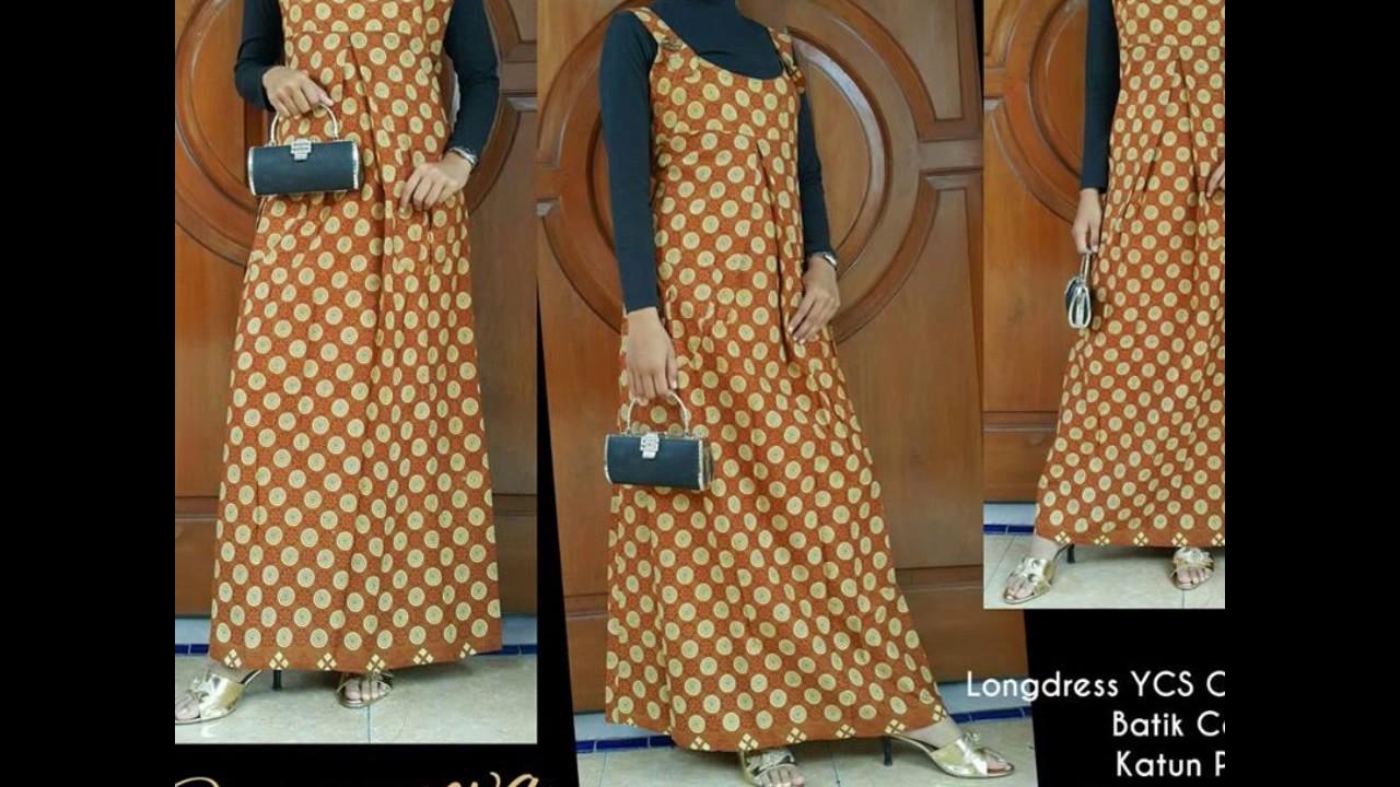 Wa 0812 2533 6662 Gamis Batik Kombinasi Untuk Orang Gemuk Gamis