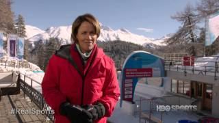 Lolo Jones the Bobsledder: Real Sports with Bryant Gumbel (March 2013)
