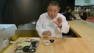 Chef Tetsuya Wakuda from Waku Ghin shares with us how he prepares t...