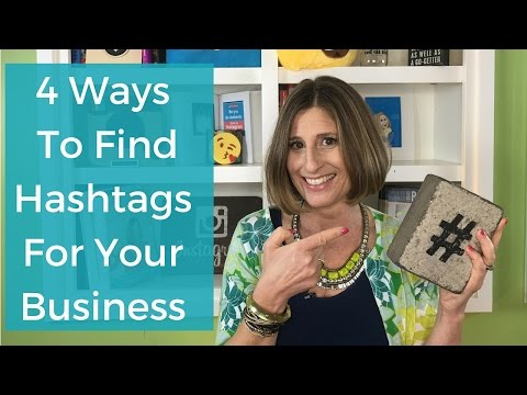4 Ways To Find Hashtags For Your Business
