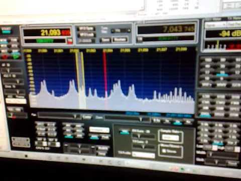 IQ1RY DL RTTY IW1AYD using FLEX RADIO 3000