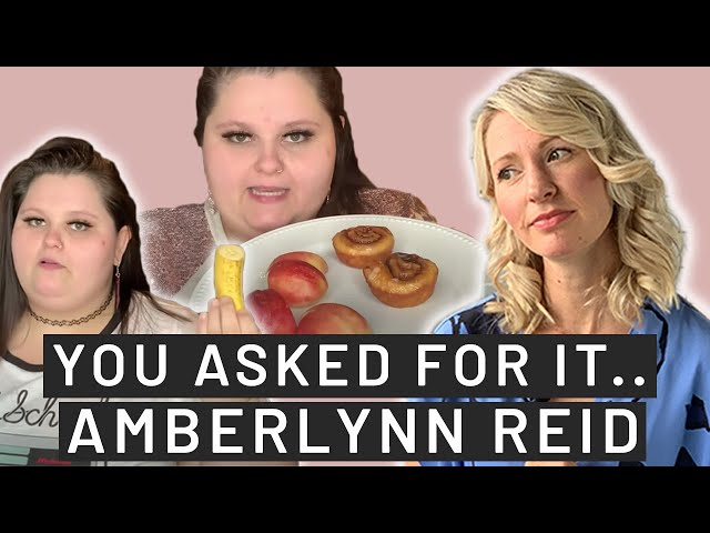 Dietitians Thoughts on Amberlynn Reid's Diet & Mukbangs (This Might Be Hard to Watch...)