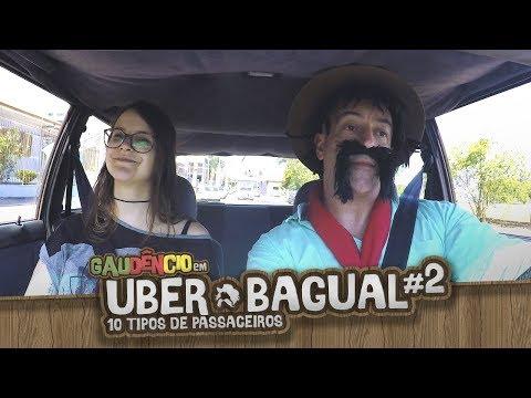 Uber Bagual #2 - 10 TIPOS DE PASSAGEIROS