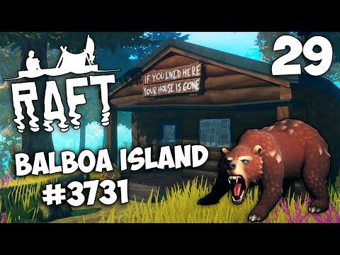 Raft (Update 10.07) - Balboa Island #3731 - Остров Бальбоа Полное Прохождение Сюжета в Игре #29