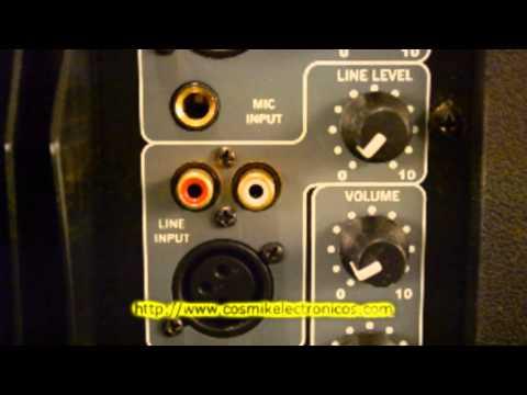 Bocinas Amplificadas |  Cosmik Electronicos | Bocinas con Amplificador Interno