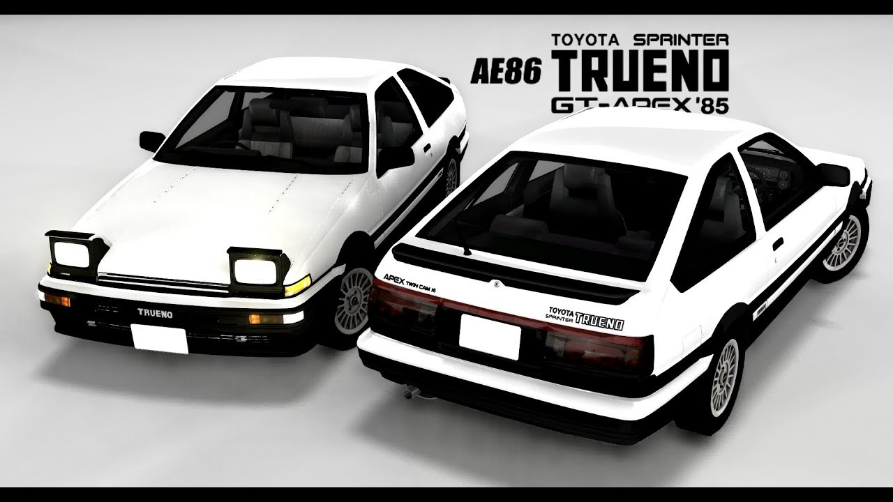 On Hold - Toyota AE86 Trueno/Levin | BeamNG