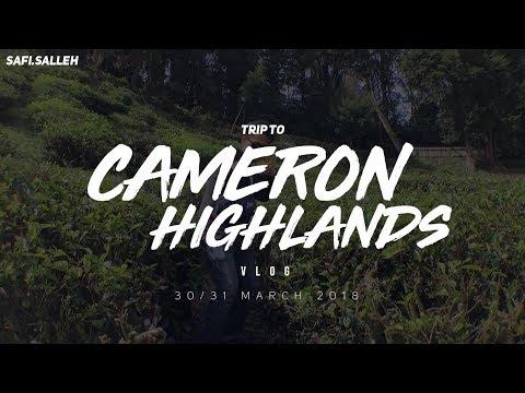 Trip to Cameron Highlands (VLOG) | Safi Salleh