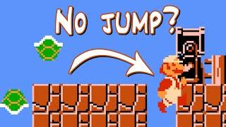 "Super Mario Bros. ""Minimum A Press"" TAS (A Button Challenge, Fewest Jumps, 62 A Presses)"