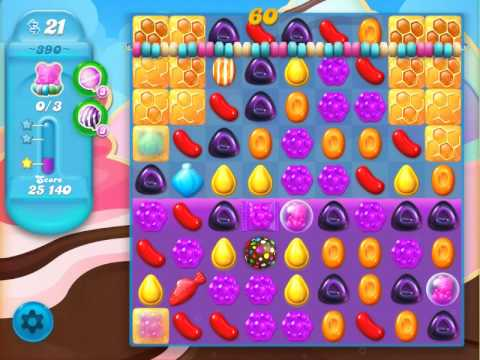 Candy crush soda saga level 390 delish fish youtube for Candy crush fish