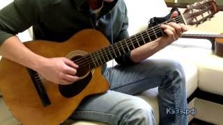 Как играть Виктор Цой (гр Кино) - Пачка сигарет, разбор песни на гитаре