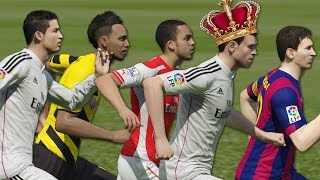 FIFA 15 Speed Test | Fastest players in FIFA