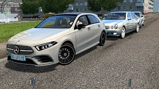 City Car Driving - 2018 Mercedes-Benz A-Class W177 [Logitech G27]