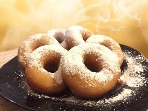 Пончики рецепты на кислом молоке без дрожжей