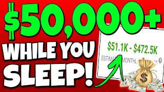 Earn $1,630.50 Per DAY While You SLEEP on AUTOPILOT (Make Money Online)