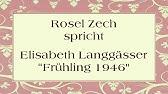 Rose Ausländer Frühling Youtube