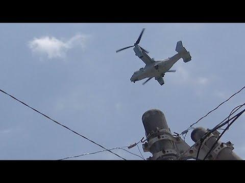 【朝日新聞】我が物顔の米軍、普天間の騒音が激化「戦争中なの?」