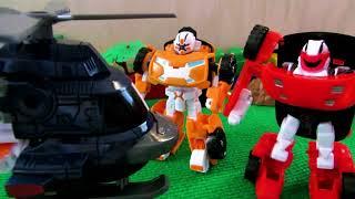 Тоботы - трансформеры Z и X. Видео с игрушками для детей