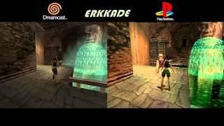 Comparison - Tomb Raider: The Last Revelation DC vs PS1