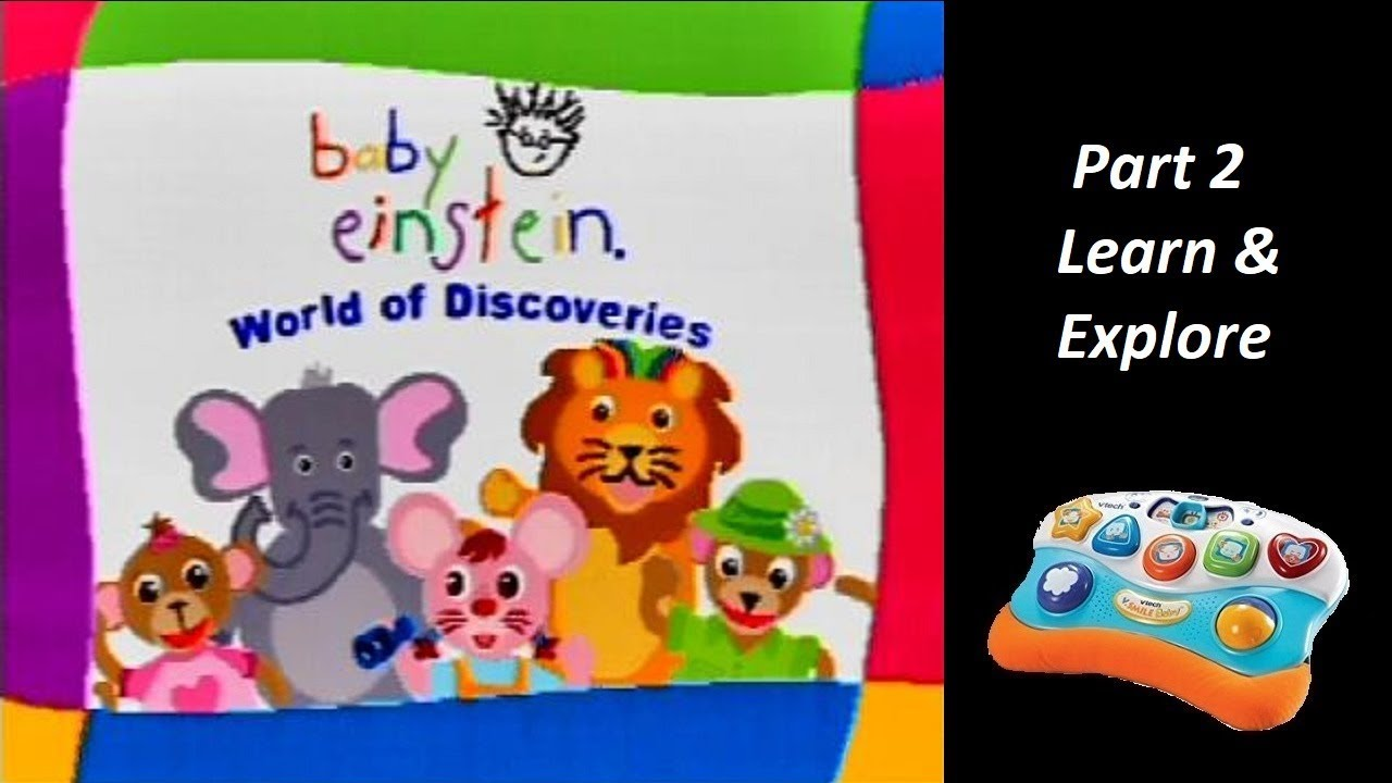 Baby Einstein (V.Smile Baby) (Playthrough) Part 2 - Learn ...