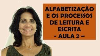 A ALFABETIZAÇÃO E OS PROCESSOS DE LEITURA E ESCRITA -AULA 2 -