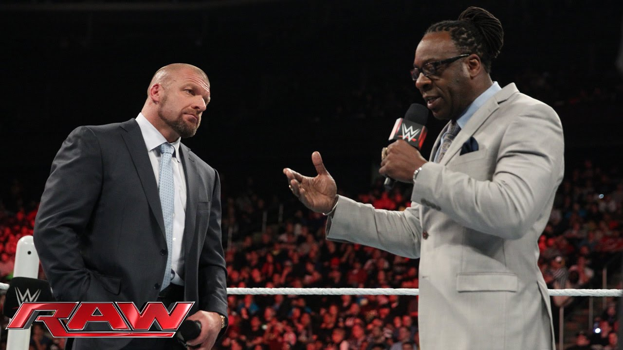 Wwe Booker T Quotes: Triple H Calls Out Booker T: Raw, March 2, 2015