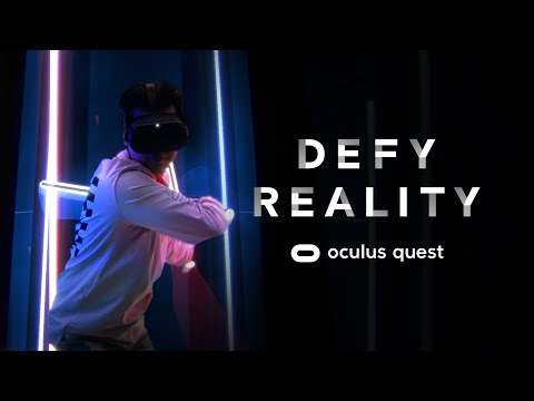 Defy Reality | Oculus Quest from YouTube · Duration:  31 seconds