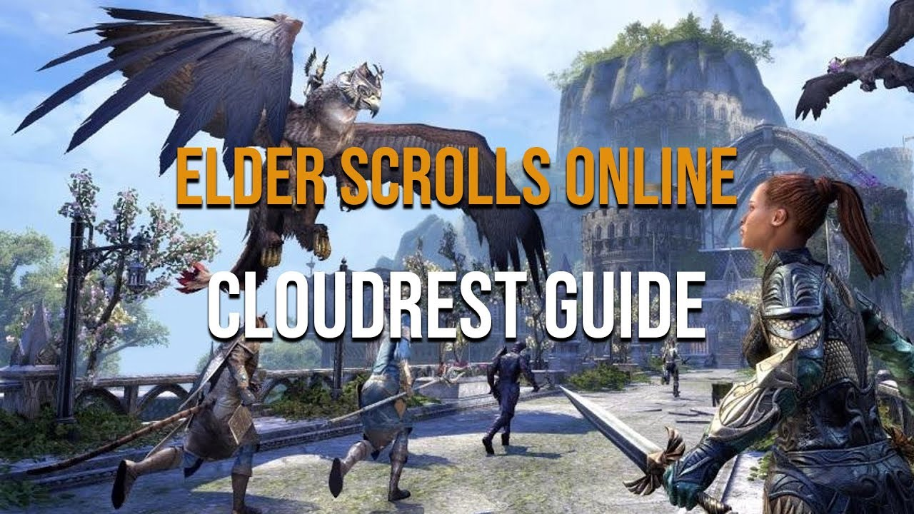 Normal Cloudrest ESO Running Shards and Portals walk through