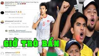 Thua cay đắng U22 Việt Nam, CĐV Indonesia GIỞ TRÒ BẨN với Văn Hậu